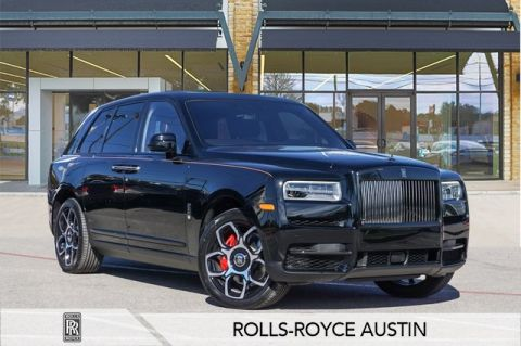 New 2020 Rolls-Royce Cullinan Black Badge